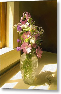 Afternoon Light Metal Print by Ric Darrell