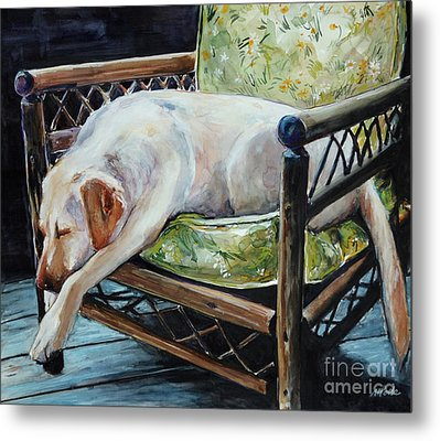 Afternoon Nap Metal Print by Molly Poole
