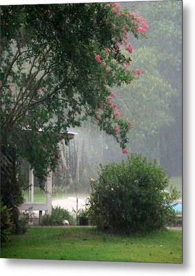 Afternoon Showers Metal Print by N S