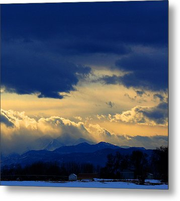 Metal Print featuring the photograph Afternoon Storm by Silke Brubaker