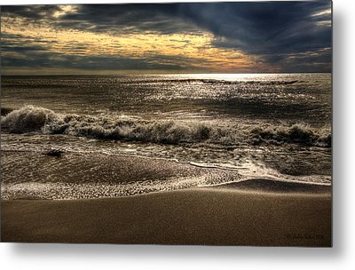 Metal Print featuring the photograph Afternoon Swell by Julis Simo