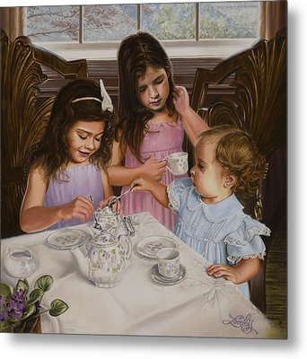 Afternoon Tea Metal Print by James Loveless