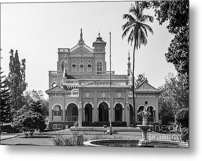 Aga Khan Palace Metal Print