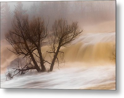 Against The Current Metal Print by Mary Amerman
