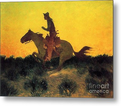 Against The Sunset Metal Print by Pg Reproductions
