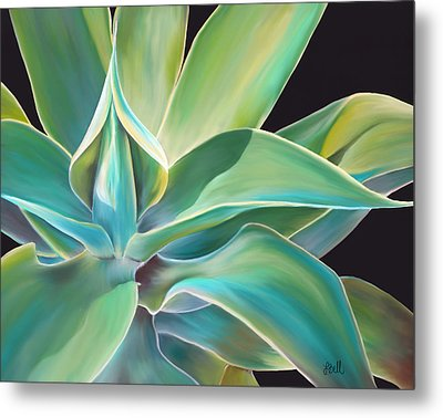 Agave 2 Metal Print by Laura Bell