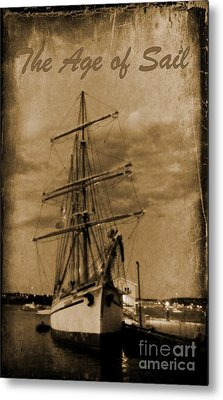 Age Of Sail Poster Metal Print by John Malone Halifax photographer