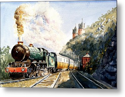 Metal Print featuring the painting Age Of Steam by Steven Ponsford