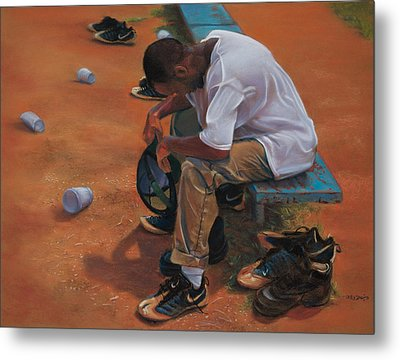 Agony Of Defeat Metal Print