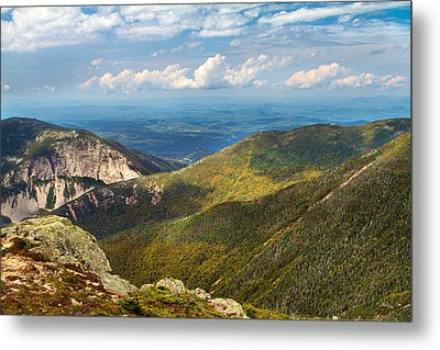 Agony Ridge And Cannon Cliffs Metal Print by Shell Ette