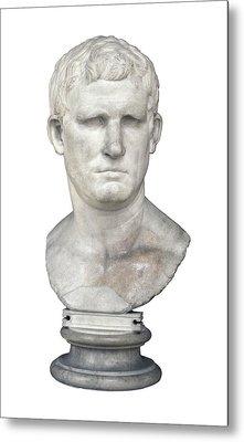 Agrippa. 63 Bc - 12 Bc. Bust. Roman Metal Print