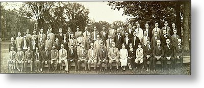 Agronomy And Genetics Metal Print by American Philosophical Society