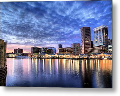 Ah Baltimore Metal Print by JC Findley