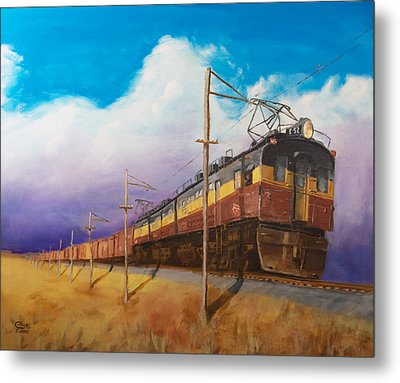 Ahead Of The Weather Metal Print by Christopher Jenkins