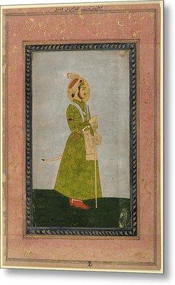 Ahmad Shah Metal Print by British Library