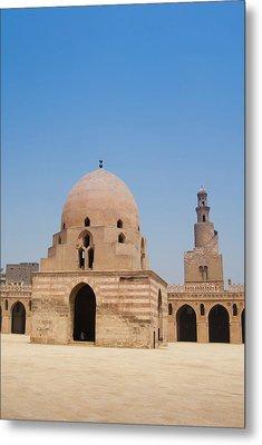 Ahmed Ibn Tulun Mosque, Cairo, Egypt Metal Print by Nico Tondini