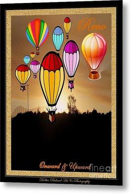 Air Balloons Reno Metal Print by Bobbee Rickard