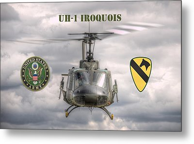 Air Cavalry Metal Print