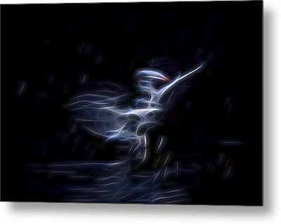 Metal Print featuring the digital art Air Elemental 1 by William Horden