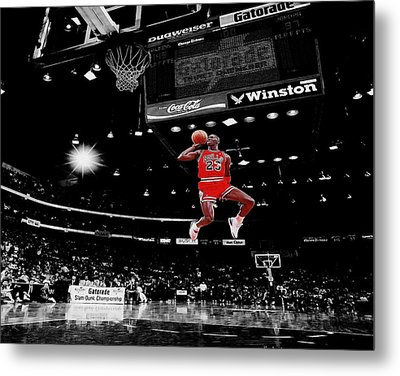 Air Jordan Metal Print by Brian Reaves