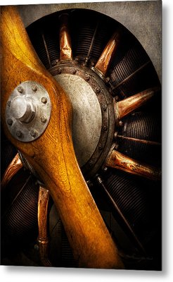 Air - Pilot - You Got Props Metal Print by Mike Savad