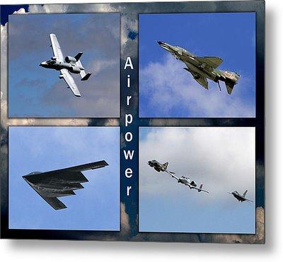 Metal Print featuring the photograph Air Power by John Freidenberg