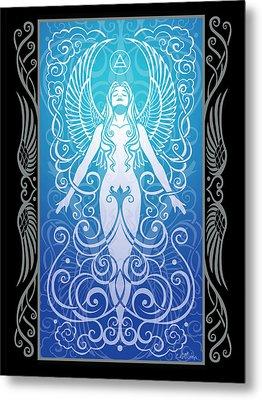 Air Spirit V.2 Metal Print by Cristina McAllister