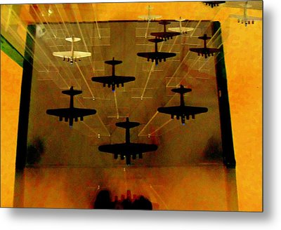 Air War Metal Print by Randall Weidner