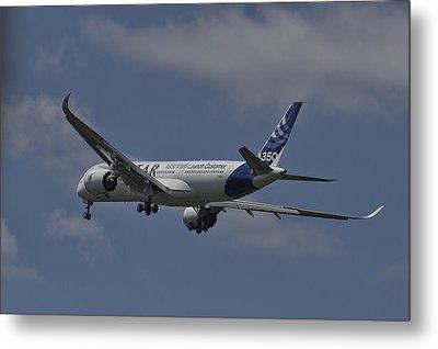 Airbus A350 Metal Print