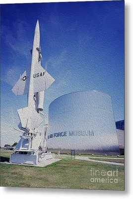 Airforce Museum Metal Print by Jon Neidert