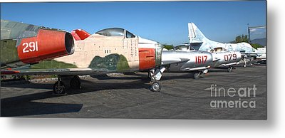 Airplane - 12 Metal Print by Gregory Dyer