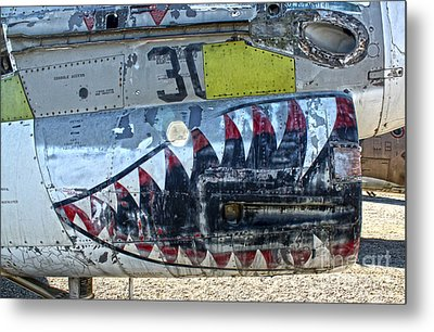 Airplane Graveyard - 06 Metal Print by Gregory Dyer