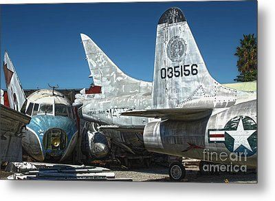 Airplane Graveyard - 19 Metal Print by Gregory Dyer