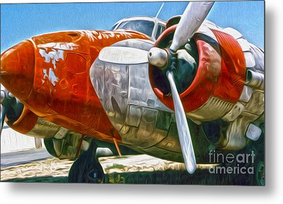 Airplane Graveyard - 21 Metal Print by Gregory Dyer