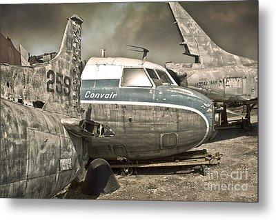 Airplane Graveyard Metal Print by Gregory Dyer