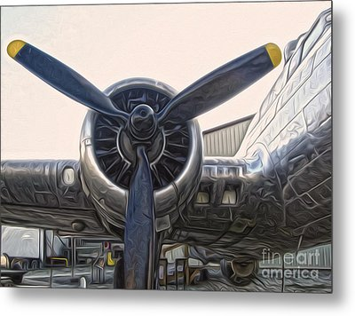 Airplane Propeller - 01 Metal Print by Gregory Dyer
