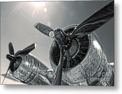 Airplane Propeller - 03 Metal Print by Gregory Dyer