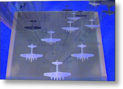 Airplanes 1 Metal Print by Randall Weidner