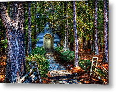 Ajsp Chapel Metal Print by Andy Lawless