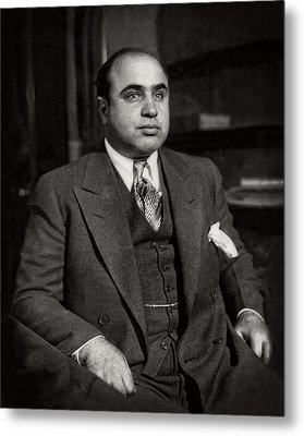 Al Capone - Scarface Metal Print by Doc Braham