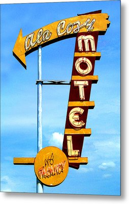 Ala Cozy Motel Metal Print