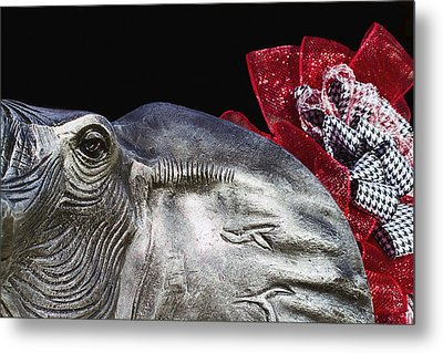 Alabama Football Mascot Metal Print by Kathy Clark