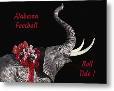 Alabama Football Roll Tide Metal Print