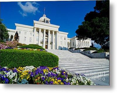 Alabama State Capitol Building Metal Print