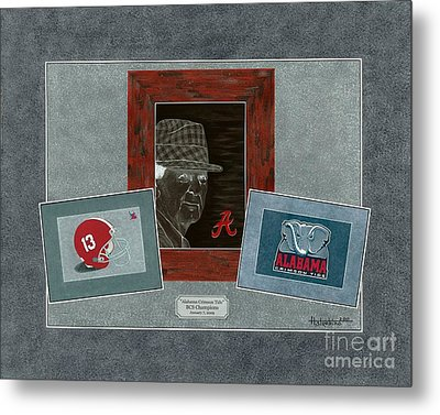 Alabama Trio  Metal Print by Herb Strobino