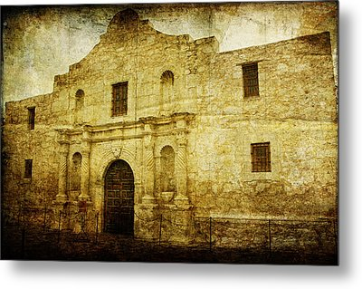 Alamo Remembered Metal Print by Lincoln Rogers