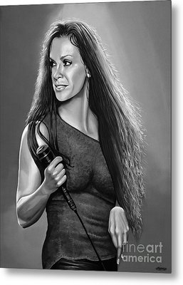 Alanis Morissette Metal Print