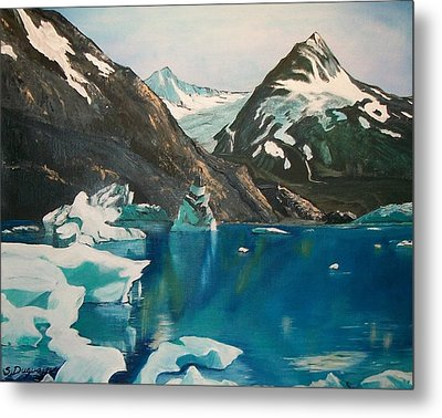 Alaska Reflections Metal Print