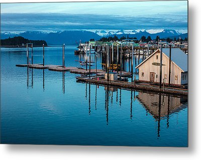 Alaska Seaplanes Metal Print by Mike Reid