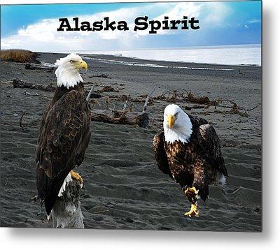 Alaska Spirit  Metal Print